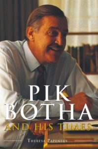 Book Cover: Pik Botha and his Times