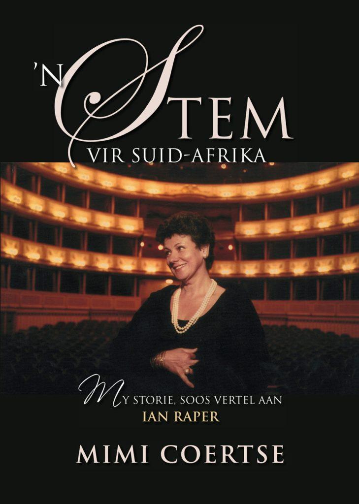 Book Cover: 'n Stem vir Suid-Afrika: my storie soos vertel aan Ian Raper